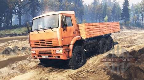 КамАЗ-6522 v9.0 для Spin Tires