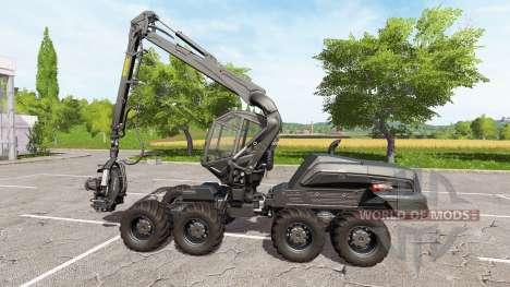 PONSSE ScorpionKing carbon matte для Farming Simulator 2017