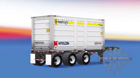 Полуприцеп-самосвал Nyylcon для American Truck Simulator