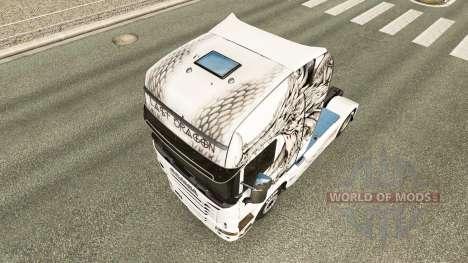 Скин Last Dragon на тягач Scania для Euro Truck Simulator 2