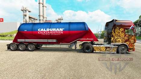 Скин Calduran на цементный полуприцеп для Euro Truck Simulator 2