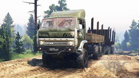 КамАЗ-4310 v2.0 для Spin Tires