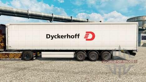 Скин Dyckerhoff на полуприцепы для Euro Truck Simulator 2
