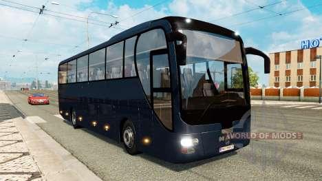 Сборник автобусов для трафика для Euro Truck Simulator 2