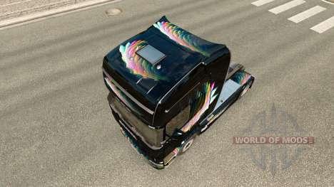 Скин FDT на тягач Renault Magnum для Euro Truck Simulator 2