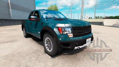 Ford F-150 SVT Raptor v1.2 для American Truck Simulator