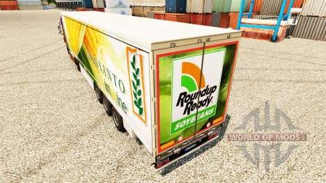 Скин Roundup Ready на полуприцепы для Euro Truck Simulator 2