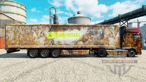 Скин Soylent Green на полуприцепы для Euro Truck Simulator 2