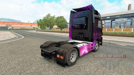 Скин Weltall на тягач Mercedes-Benz для Euro Truck Simulator 2