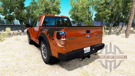 Ford F-150 SVT Raptor v1.5 для American Truck Simulator