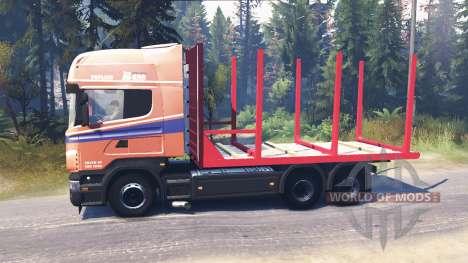 Scania R620 для Spin Tires