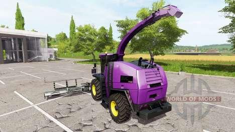 Krone BiG X 1100 v2.0 для Farming Simulator 2017