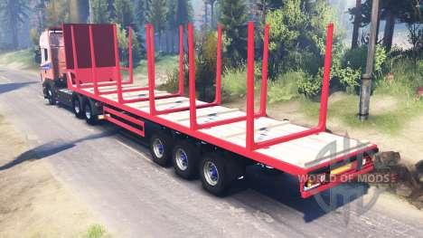 Scania R620 v2.0 для Spin Tires