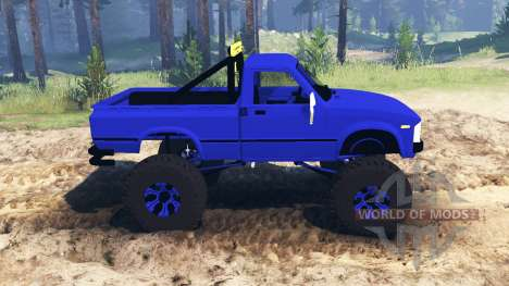 Toyota Hilux 1981 для Spin Tires