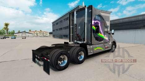 Скин Affari Transport на тягач Kenworth T680 для American Truck Simulator