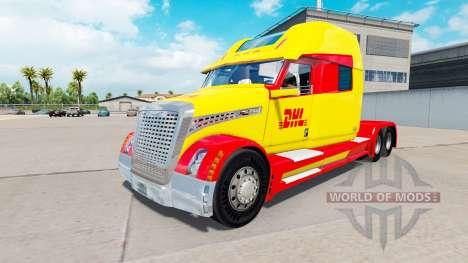 Скин DHL на тягач Concept truck 2020 для American Truck Simulator