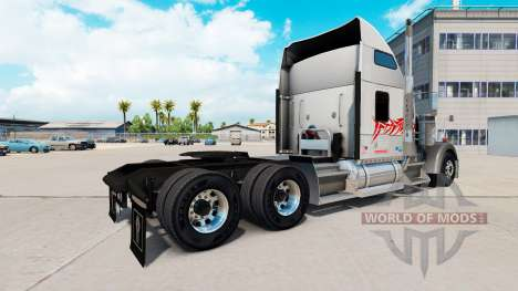 Скин Bull на тягач Kenworth W900 для American Truck Simulator
