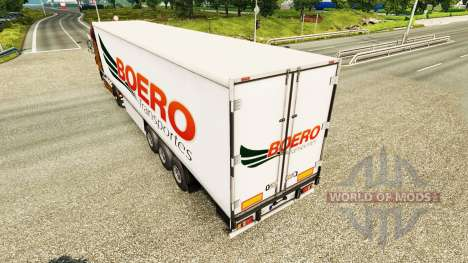 Скин Boero Transportes на полуприцепы для Euro Truck Simulator 2