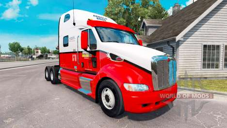 Скин Arnold Bros на тягач Peterbilt 387 для American Truck Simulator