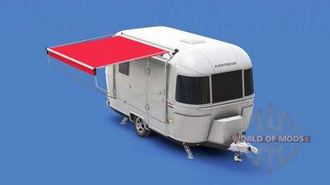 Жилой прицеп Airstream для American Truck Simulator