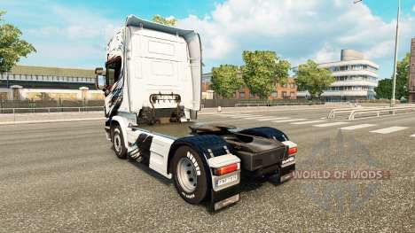 Скин Exclusivo на тягач Scania для Euro Truck Simulator 2
