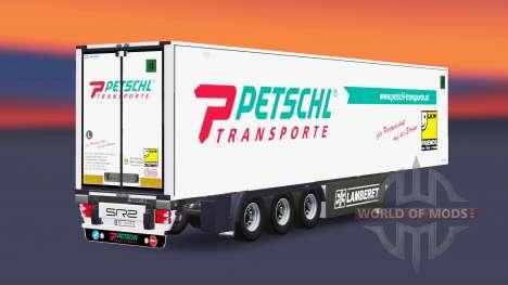Полуприцеп-рефрижератор Lamberet Petschl для Euro Truck Simulator 2