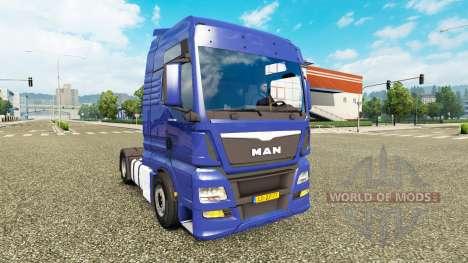 MAN TGX Euro 6 v2.1 для Euro Truck Simulator 2