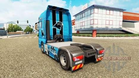 Скин NFC South на тягач MAN для Euro Truck Simulator 2