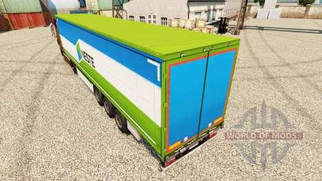 Скин Neste на полуприцепы для Euro Truck Simulator 2