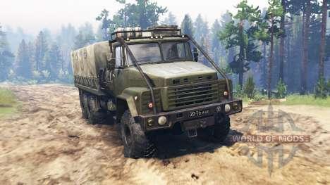 КрАЗ-260 v2.0 для Spin Tires