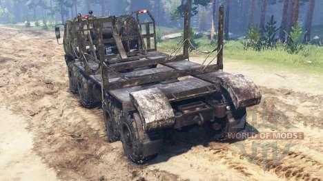 КрАЗ-7Э6316 Сибирь для Spin Tires