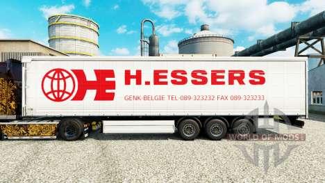 Скин H.Essers на полуприцепы для Euro Truck Simulator 2