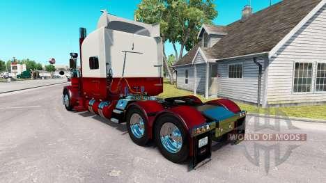 Скин The Revolution на тягач Peterbilt 389 для American Truck Simulator