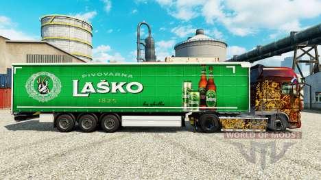 Скин Lasko на полуприцепы для Euro Truck Simulator 2