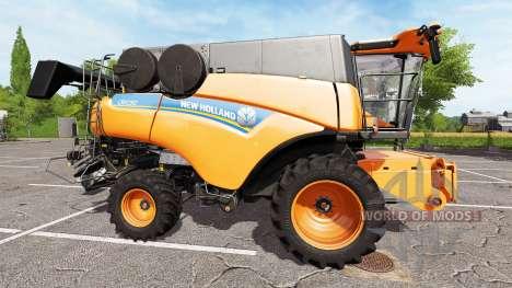 New Holland CR10.90 twin wheels для Farming Simulator 2017