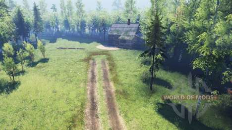 Жуткий лес v2.0 для Spin Tires