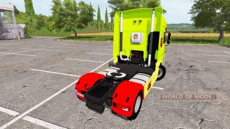 DAF XF Super Space Cab tuning для Farming Simulator 2017