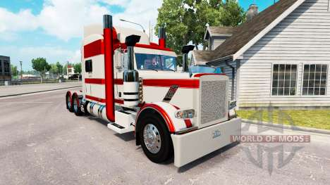 Скин Rabbit River на тягач Peterbilt 389 для American Truck Simulator