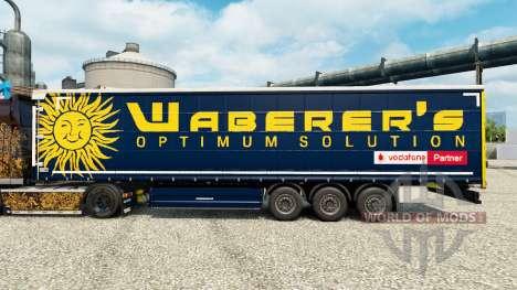 Скин Waberers на полуприцепы для Euro Truck Simulator 2
