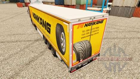 Скин Nankang на полуприцепы для Euro Truck Simulator 2