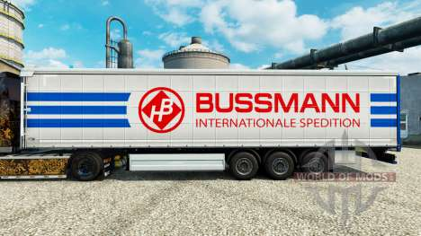 Скин Bussmann на полуприцепы для Euro Truck Simulator 2