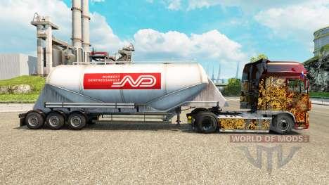 Скин Norbert на цементный полуприцеп для Euro Truck Simulator 2