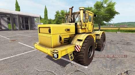 Кировец К-700А v1.01 для Farming Simulator 2017