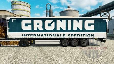 Скин Groning на полуприцепы для Euro Truck Simulator 2