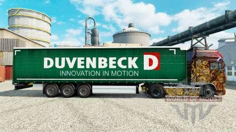 Скин Duvenbeck на полуприцепы для Euro Truck Simulator 2