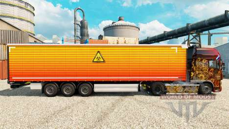 Скин Unclear на полуприцепы для Euro Truck Simulator 2