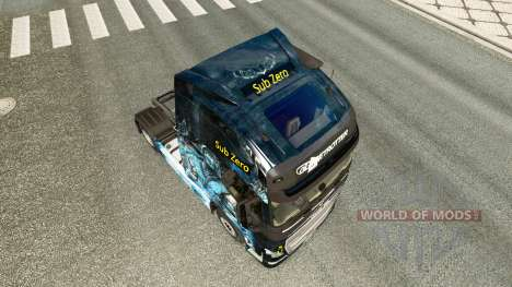 Скин Sub-Zero на тягач Volvo для Euro Truck Simulator 2