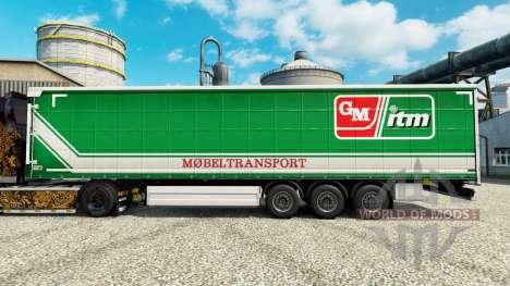 Скин GM itm Mobeltransport на полуприцепы для Euro Truck Simulator 2