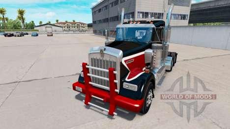 Бампер Heavy Duty для Kenworth W900 для American Truck Simulator