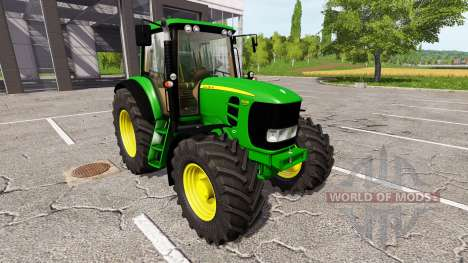 John Deere 7530 Premium v0.1 для Farming Simulator 2017